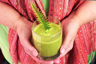 Christmas morning green smoothie, and my beautiful mom. | by Kim | Affairs of Living