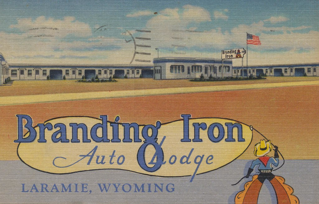 Branding Iron Auto Lodge - Laramie, Wyoming