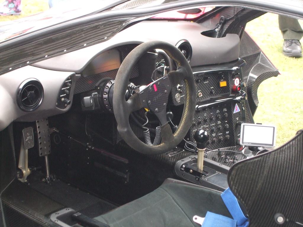 ... McLaren F1 GTR Interior   By George Matthews