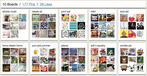 my Pinterest boards | by Happy Zombie
