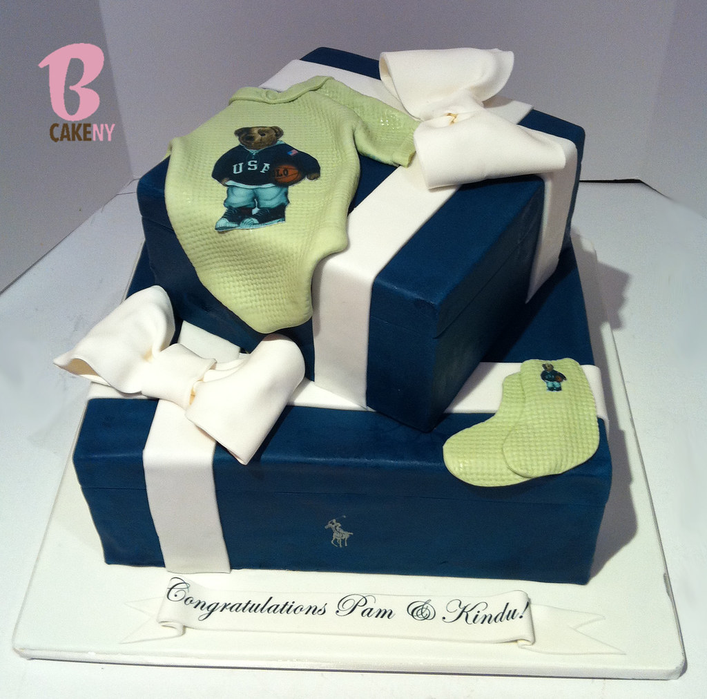 ... Polo Baby Shower Cake | By BCakeNY