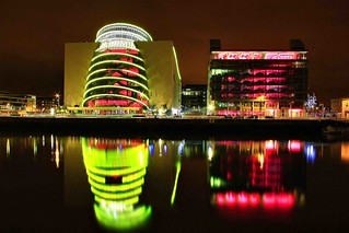 reflections on river liffey dublin City | by Dublin.Linda