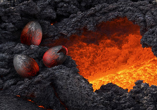 Lava and Dragon Eggs | by BombDog