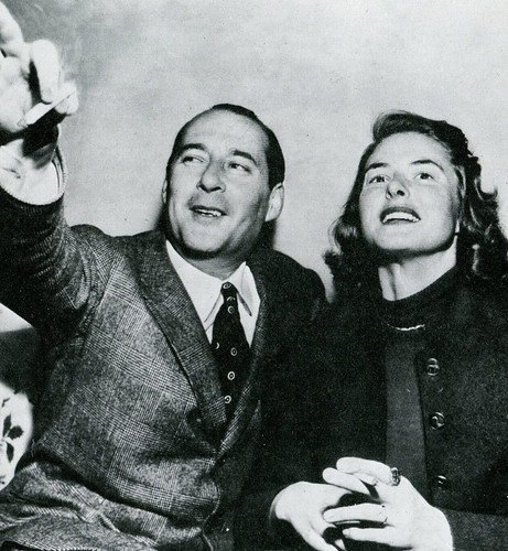 Roberto Rossellini and Ingrid Bergman | by classic film scans