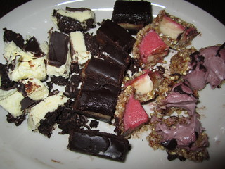 Desserts + flash | by veganbackpacker