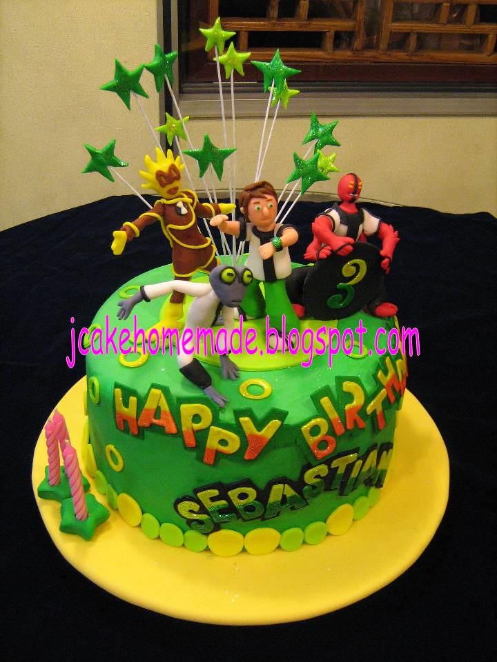 Ben 10 Alien Force Theme Birthday Cake Happy 3rd Birthday Flickr