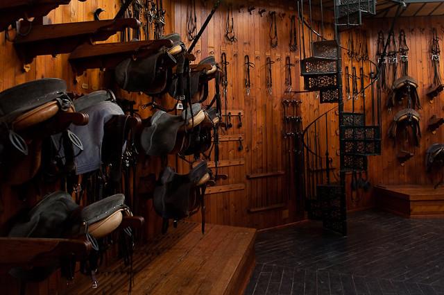 The saddle room, Royal Andalucían School of Equestrian Art… | Flickr