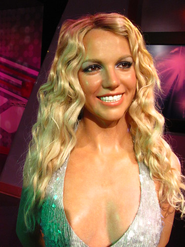 Britney Spears figure at Madame Tussauds Hollywood | by Castles, Capes & Clones