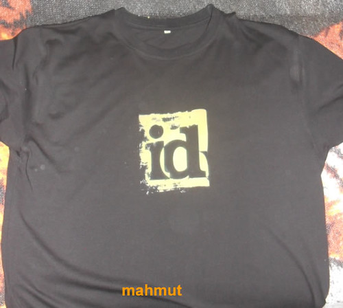 Custom id software t shirt mahmut saral flickr for Custom t shirt software