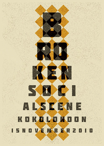 Broken Social Scene Poster | by A2K Design