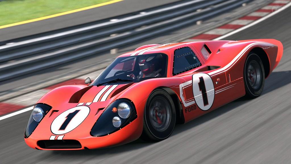 Ford Mark IV Race Car @ High Speed Ring | Gran Turismo 5 | WeezyMac ...