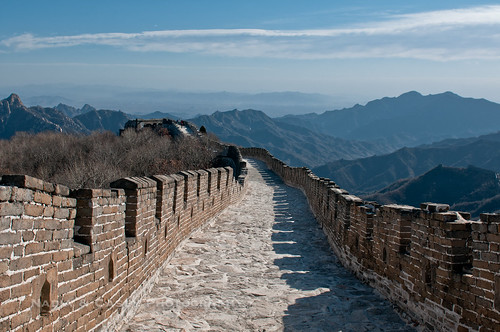 The Wall Above - The Great Wall of China, Beijing | by www.caseyhphoto.com