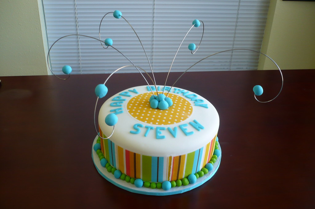 Stevens 39th Birthday Cake