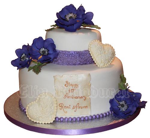 Cake Images With Name Rani : Rani Anniversary cake Cake bie Flickr