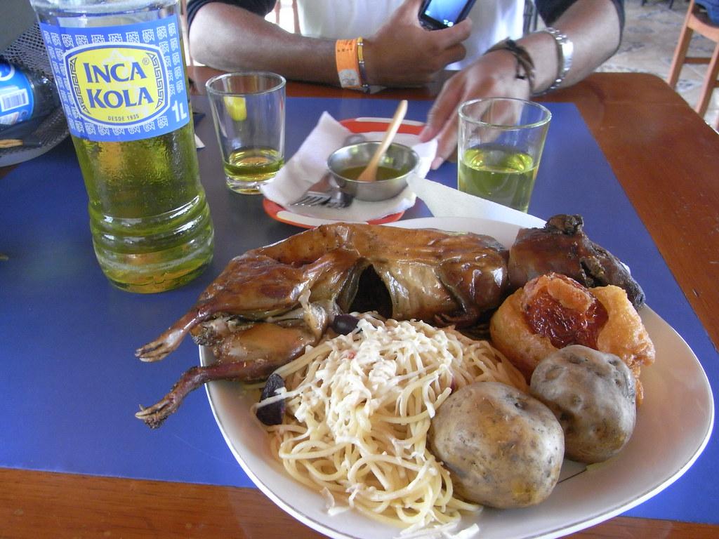 inca kola y cui this is my b day treat as the locals do yuko