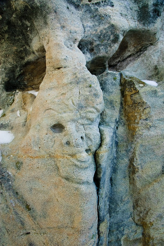 Ute Valley Rock Face Carving | by Robin-Wilson