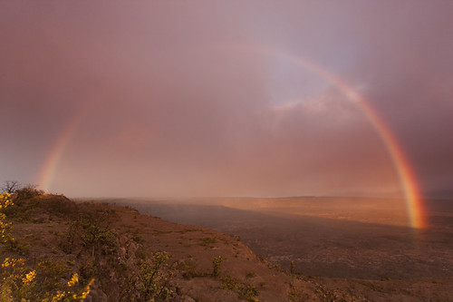 Red Rainbow over Pele | by Takeshi Sugimoto
