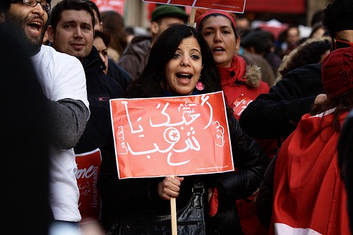 Protest Tunisia | by Gwenaël Piaser