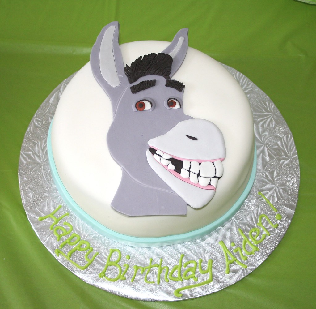 Donkey From Shrek By Desperate Cake Wives