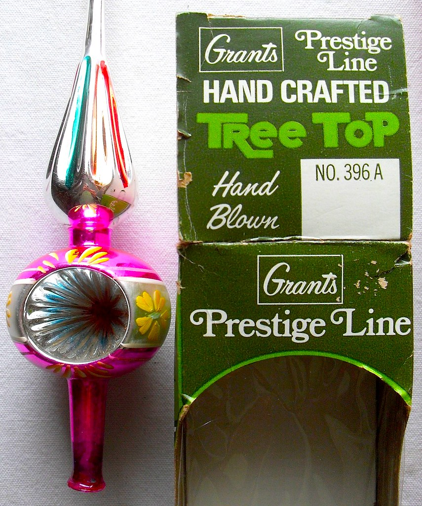 1960s W T Grant Tree Topper Vintage Christmas Decoration G… | Flickr