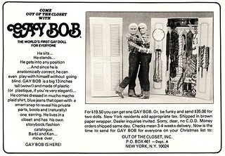 Gay Bob Doll Magazine Advert, 1978 | by JoeInSouthernCA