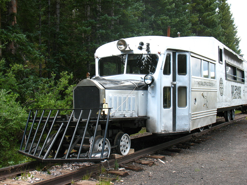 Train to colorado from pa - By Vilseskogen The Galloping Goose A Funny Train Contraption By Vilseskogen