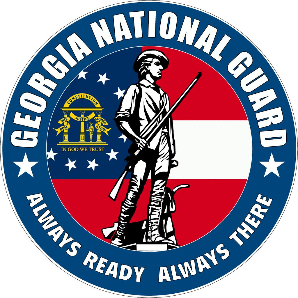 Georgia National Guard Logo For More Information About The Flickr