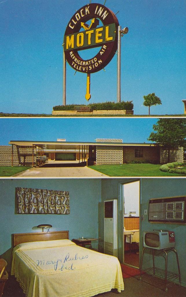 Clock Inn Motel - Oklahoma City, Oklahoma