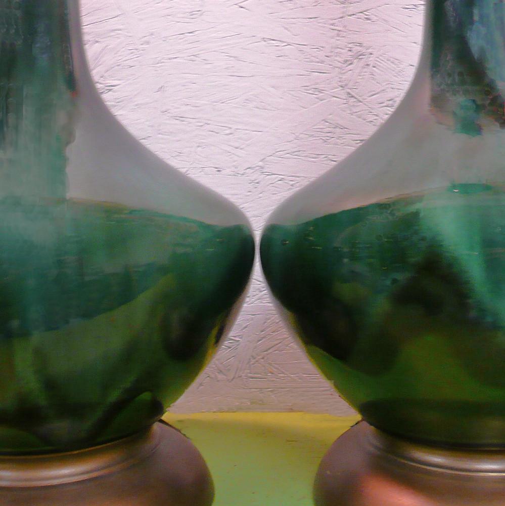 Vintage green ceramic drip glaze table lamp pair they have flickr vintage green ceramic drip glaze table lamp pair by lise vintage lighting mozeypictures Choice Image