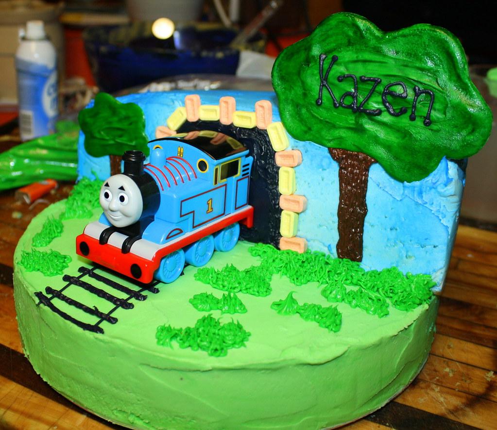 Thomas Birthday Cake Thomas The Train Birthday Cake That I Flickr