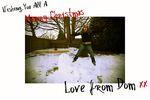 A Christmas Message from me...Dom! | by domclark