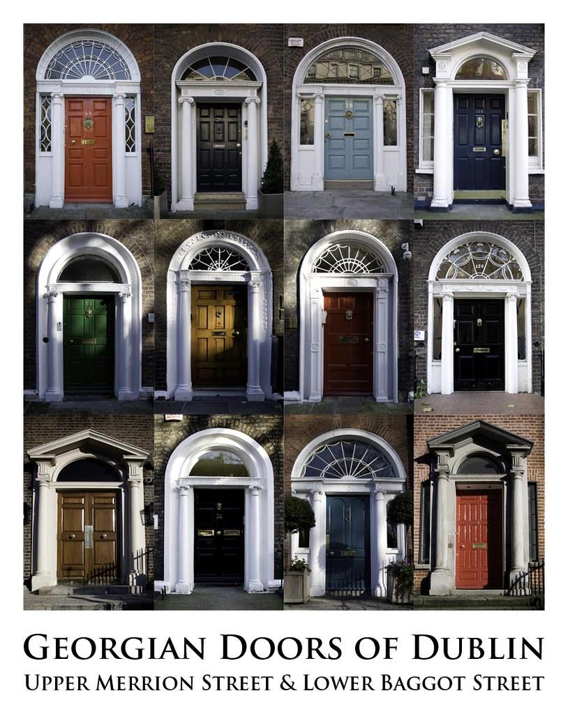... Georgian Doors of Dublin | by innola & Georgian Doors of Dublin | Collage of Georgian door fronts ou2026 | Flickr