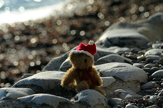 Merry Christmas from Meadfoot Beach | by rosiespoonerphotos