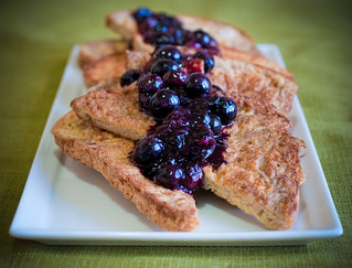 Blueberry French Toast | by bluefrogj