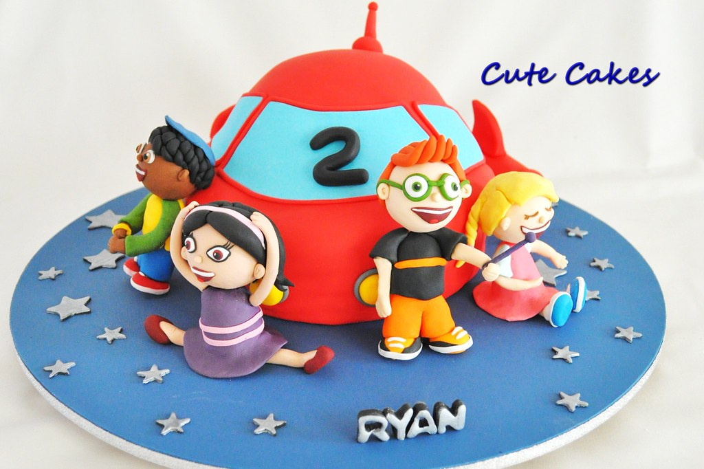 Little Einsteins Cake For My Son 2nd Birthday Cute Cakes By Ying
