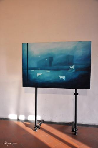 """Ernesto Morales - Genova, Museoteatro della Commenda di San Giovanni di Pré - Mostra: """"LE CITTA' DEI RITORNI"""""""