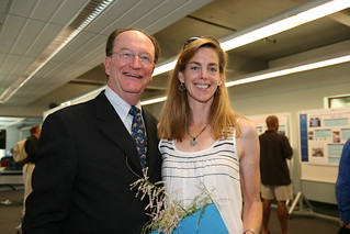 President Richard Rush and Professor Amy Denton at ACE event 2010 | by California State University Channel Islands
