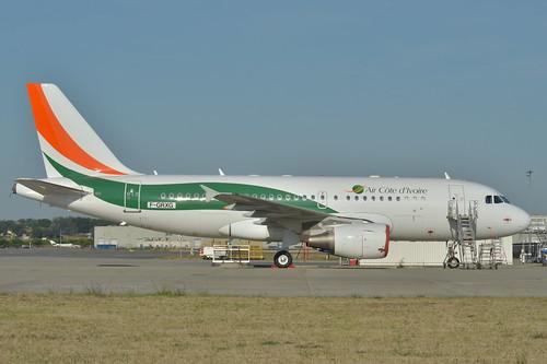 Airbus A319-100 Air Côte d'Ivoire (VRE) F-GRXG - MSN 2213 - Will be TU-TSA