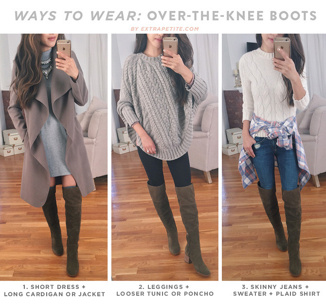 how to style_ways to wear over the knee OTK boots