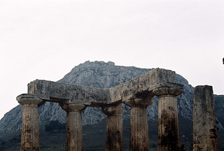 Acrocorinth, seen from Aphrodite Temple | by wnhsl