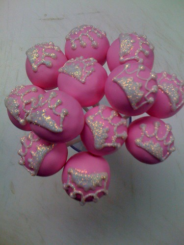 Pink Princess Cake Pops | by Sweet Lauren Cakes
