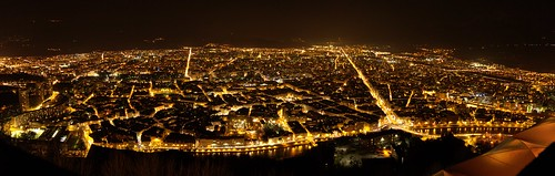 Grenoble at Night | by languitar