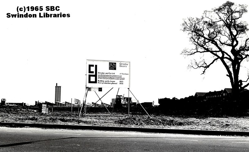 ... Swindon 1965 Site of Crosby Doors Greenbridge Swindon | by Local Studies Swindon  sc 1 st  Flickr & 1965: Site of Crosby Doors Greenbridge Swindon | Source: S\u2026 | Flickr