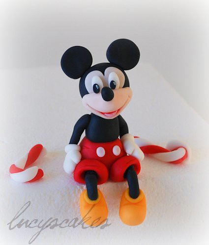 Mickey Mouse Club House Icing Cake Topper Visit Me And Lik Flickr
