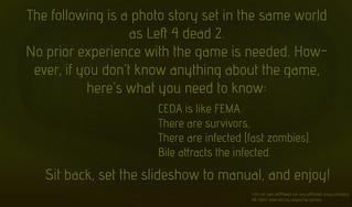 Survivor Files   In the desperate, harsh world of left 4 dea