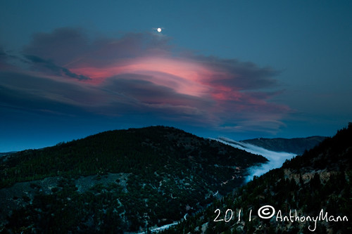 Moonrise over Blue Ridge | by Anthony_Mann