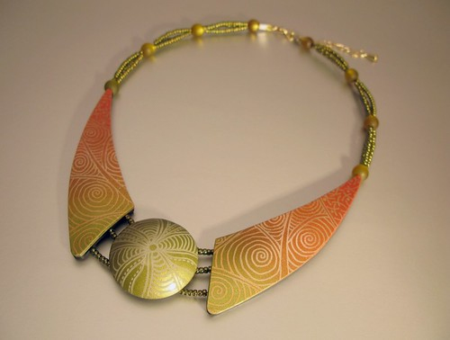 Necklace Complementary Harmony | by ST-Art-Clay
