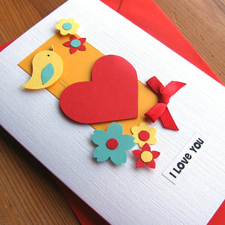 Valentine Card - I Love You | by Handmade in Israel