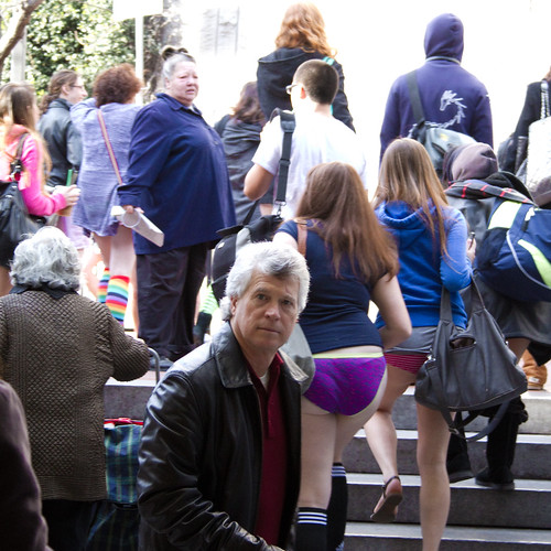 No Pants Subway Ride, SF 2011: I'm not sure what's going on | by bhautik_joshi