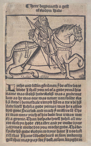 'A Gest of Robin Hood' | by National Library of Scotland